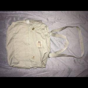 Analog Handbags - Analog canvas messenger style bag