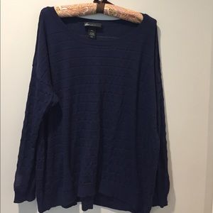 Lane Bryant Sweaters - Lightweight sweater with sheer striping