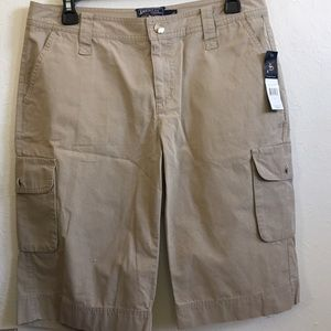 American Living Pants - New Bermuda khaki American living tag NWT shorts