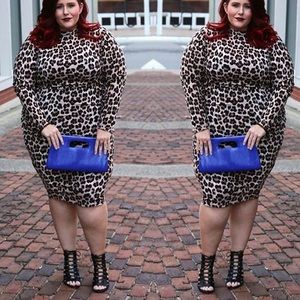 rebdolls Dresses & Skirts - Plus size long sleeve bodycon