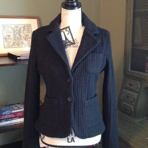 Jackets & Blazers - Fitted sweater jacket