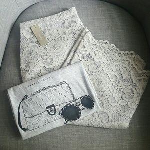 J. Crew lace pencil skirt