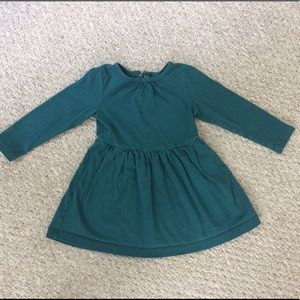 Primary Other - Primary dark green toddler dress, size 2-3