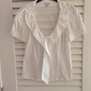 Anthropologie Tops - Anthropologie | Odille Flossie | Tie-Front Blouse