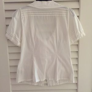Anthropologie Tops - Anthropologie   Odille Flossie   Tie-Front Blouse