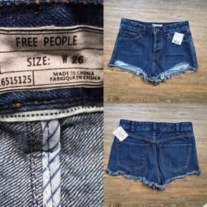 Free People Pants - NWT Free People Jean Shorts