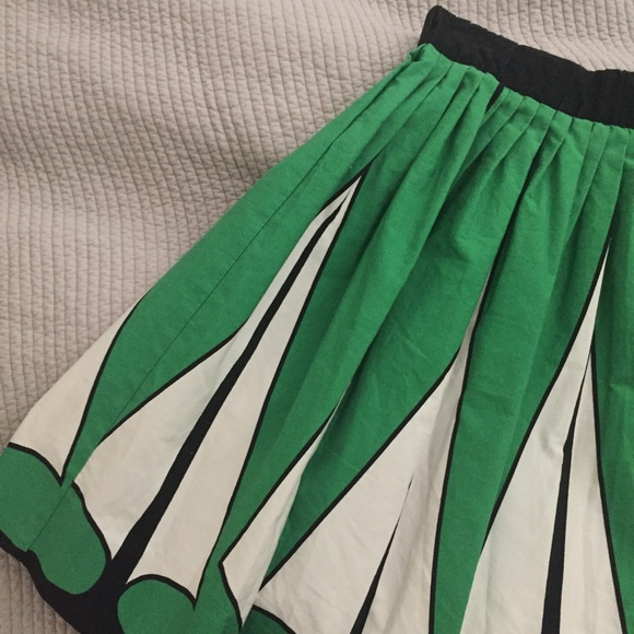 Zara Dresses & Skirts - ZARA Woman | Art Deco Circle Skirt