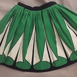 Zara Skirts - ZARA Woman | Art Deco Circle Skirt
