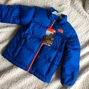 NWT Toddler Boys North Face Andes Down Jacket Coat