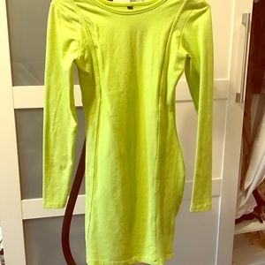 Dresses & Skirts - Lime green dress