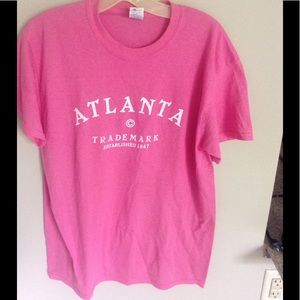 Hot pink Atlanta and purple philly tee ❤️