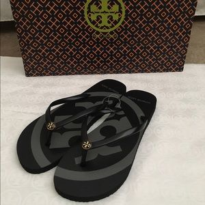 Tory Burch Shoes - NWT Authentic Tory Burch Flip Flops (Size 10)