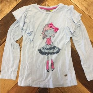 Petit Lem Other - Petit Lem long sleeve girls top (2T)