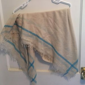 lightweight sheer blanket scarf