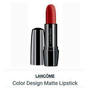 Lancome Color Design Red Addiction Lipstick