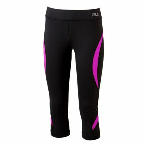 ca3566123467 New fila sport running capris leggings