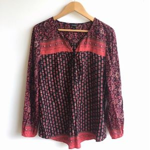 Lucky Brand Tops - Lucky Brand Long Sleeve Top Size L