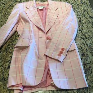 Escada Tops - ESCADA Silk Wool Blend Jacket