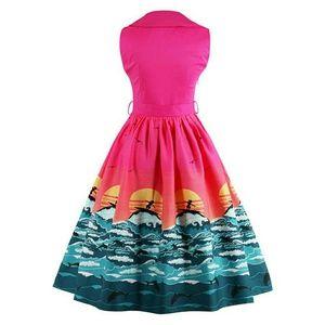 Voodoo Vixen Dresses & Skirts - *NEW LISTING* Vintage Inspired Ocean Print Dress