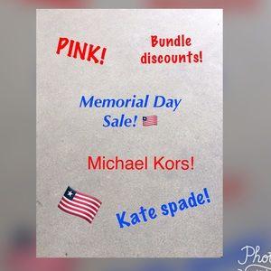 Michael Kors, Kate spade, pink & tons more! ❤️