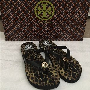 Tory Burch Shoes - NWT Authentic Tory Burch Flip Flops (Size 7)