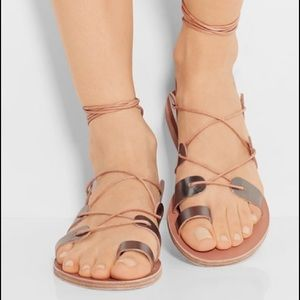 Ancient Greek Sandals Shoes - NEW Metallic & Nude Ancient Greek Sandals!