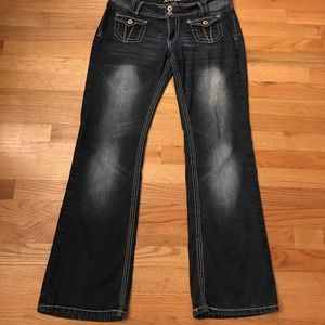 Angels Jeans Denim - Angels Jeans in Darkwash-Great style and cut!