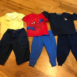 Other - 3 pants and 3 tops for baby