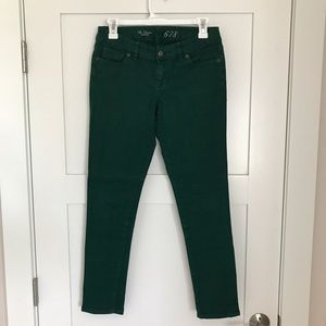 The Limited Denim - The Limited 678 Green Denim Jeans