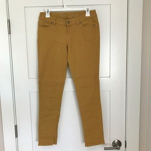 The Limited Denim - The Limited 678 Yellow Denim Jeans