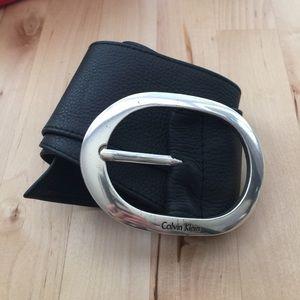 Calvin Klein Genuine Leather Belt