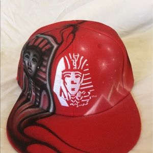 Other - Airbrushed Last Kings SnapBack Hat
