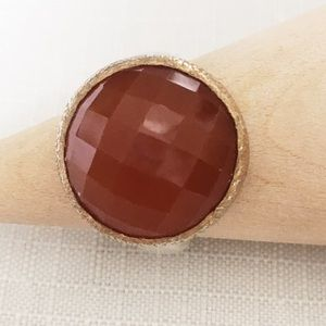 Jewelry - Carnelian statement ring.  Size 6.