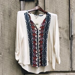 Lucky Brand Tops - 🇺🇸NWT Lucky Brand long sleeve shirt size L
