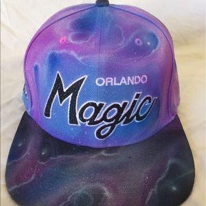 Other - Custom Airbrushed Orlando Magic SnapBack Hat