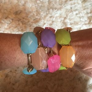 Lilly Pulitzer Jewelry - Six Colorful Bangles