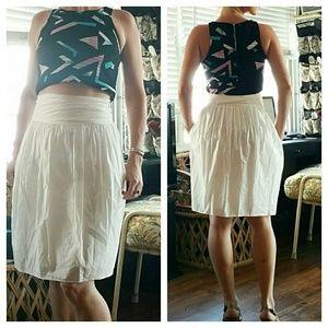 3.1 Phillip Lim Dresses & Skirts - 3.1 Phillip Lim High Waisted Cotton Skirt