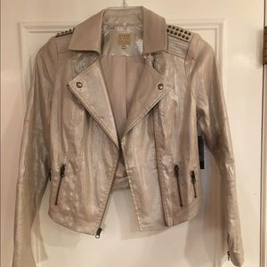 Guess Jackets & Blazers - Guess Shimmer Studded NWT Jacket