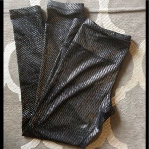 90 Degree By Reflex Pants - 90 Degree by Reflex Sparkle Sport Leggings