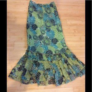 Christopher & Banks Dresses & Skirts - Floaty ruffled maxi skirt, fully lined