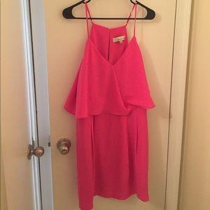adelyn rae spaghetti strap cocktail dress