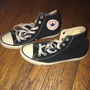 Converse Shoes - Black Converse All-stars
