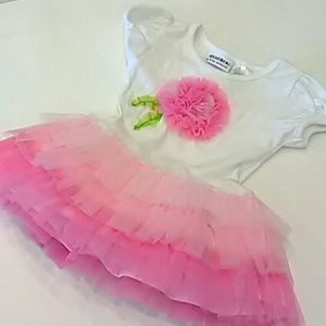 11thstreet Other - Tulle princess pink dress tunic top for toddler