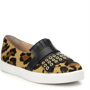 kate spade Shoes - Kate Spade Courtney Calf Hair Slip-on Sneakers