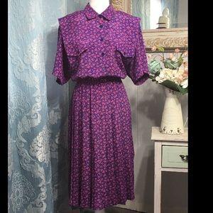 Vintage Plus size dress