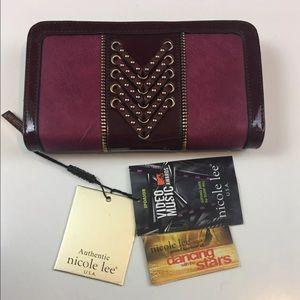 Nicole Lee Handbags - NWT Nicole lee Rene Double Braid -Bi fold  wallet