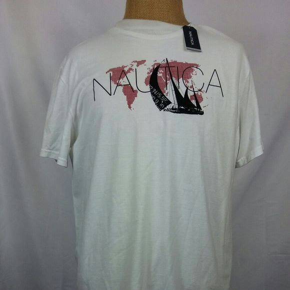 43 Off Nautica Other Nautica Printed Graphic Fishing T