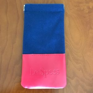 le specs Accessories - Le specs soft sunglass case only new