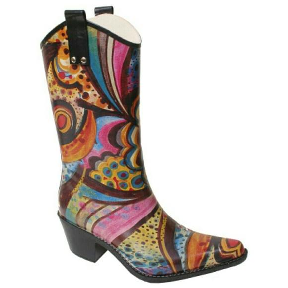 Cowboy Rain Boots Women S Shoes