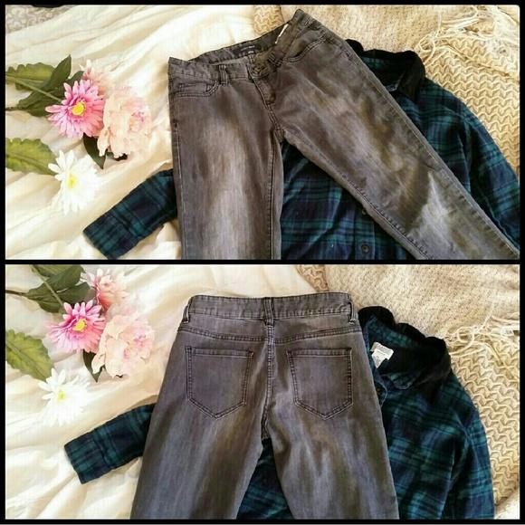 Bossini Denim - Dark Grey Skinny Jeans